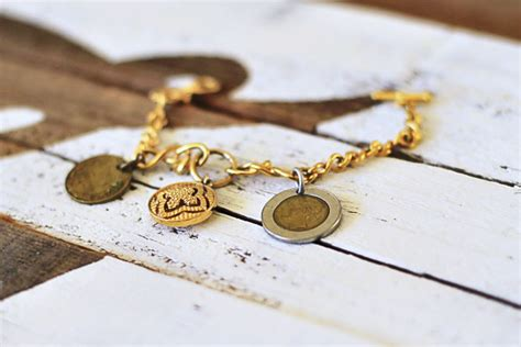 how to make coin jewelry mementos and jewelry with coins