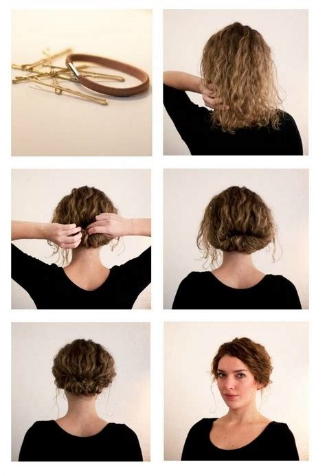 quick and easy hairstyles for really curly hair quick and easy hairstyles for wavy hair