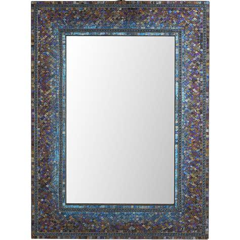 bathroom mirrors pier one midnight ombre mosaic 30x40 mirror pier 1 imports
