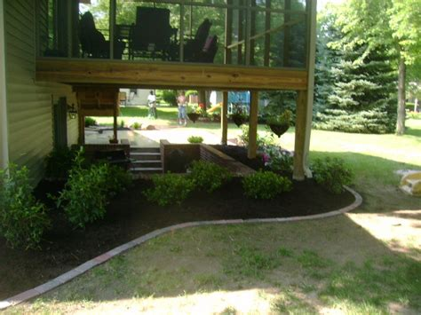 landscaping deck landscaping ideas