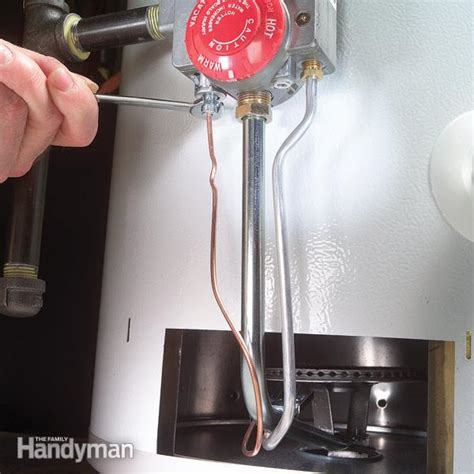 water heater thermocouple how to replace a water heater thermocouple family handyman