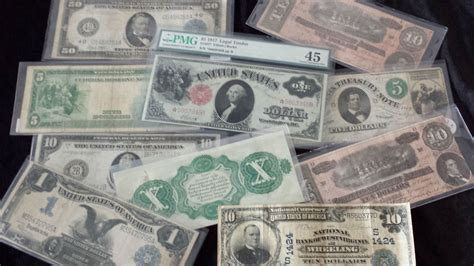 Paper Money - paper money certified and graded currency
