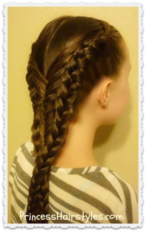diving hairstyles diving mermaid braid hairstyle tutorial hairstyles for