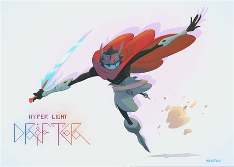 Why Is My Dog So Hyper by Artsy Fartsy Hyper Light Drifter Concept Art