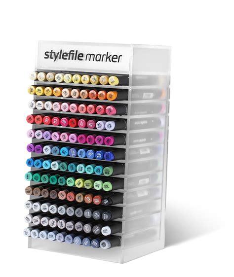 Acrylic Display stylefile marker 120x acrylic display multicolor
