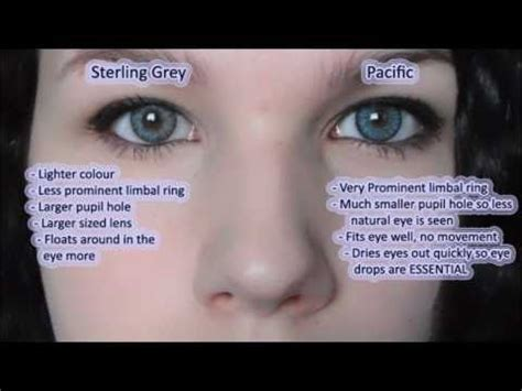 Eye Softlens Grey freshlook sterling grey vs soflens pacific contact