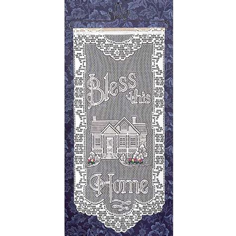 quot bless this home quot heritage lace wall hanging