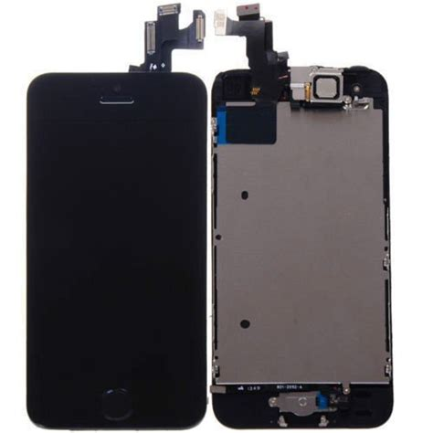 Apple Iphone 5s Lcd new oem apple iphone 5s black lcd screen touch digitizer assembly