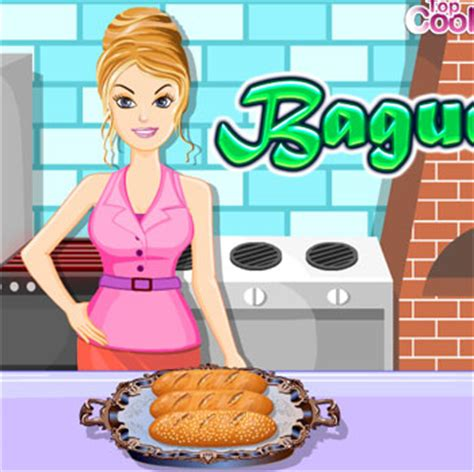 games for girls girl games play girls games online game cooking bake baguette
