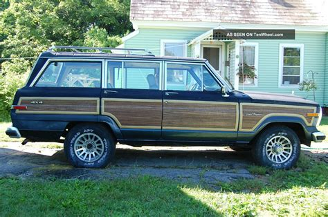 jeep wagoneer 1989 1989 jeep grand wagoneer
