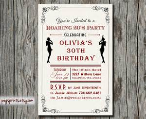 roaring twenties invitations images