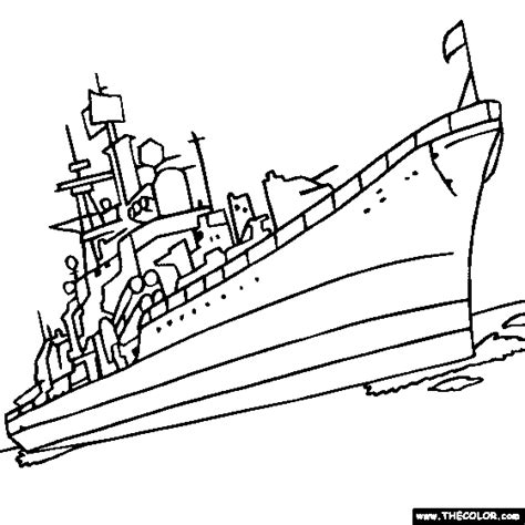 Ship Used For War Colouring Pages Wars Ships Coloring Pages