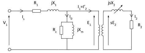 3 phase induction motor circuit diagram pdf induction motor equivalent circuit