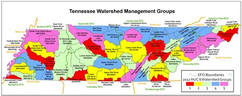 map of tennessee localwaters tennessee watershed map localwaters