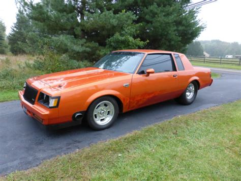 turbo buick grand national 1986 buick turbo regal grand national modified 8 second