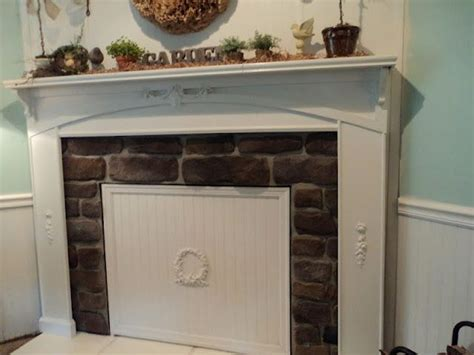 Fireplace Cover by Diy Beadboard Cover The Fireplace For Summer