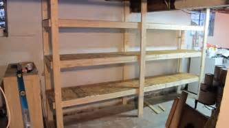 aufbewahrung regale diy basement shelves in a day merrypad