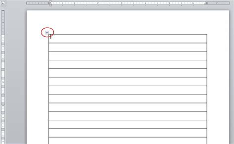 template 1 column a way to create a list of sequential numbers in word
