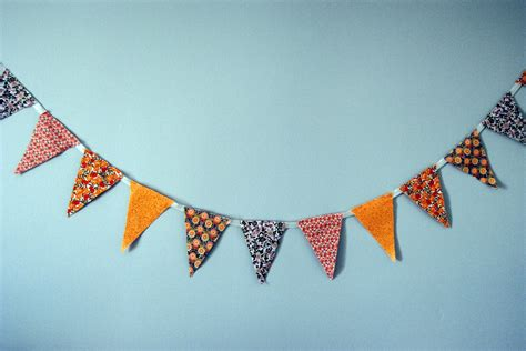 Decorate My Home Online fabric bunting browniesandburgers