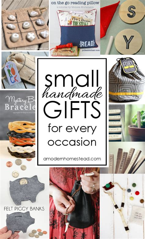 Small Handmade Gifts - small gifts for any occasion