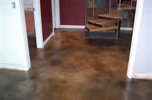 stained concrete in basement stained concrete residential gallery beautify concrete