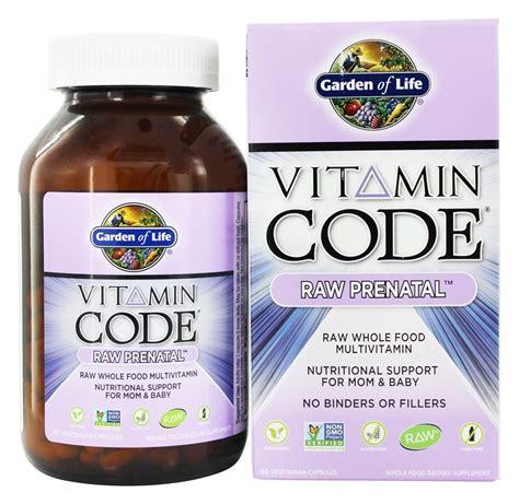 Garden Of Prenatal Vitamins Vitamin Code Prenatal Buy Garden Of Vitamin Code Prenatal 180