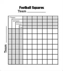 Foot ball square template 7 free pdf doc download sample