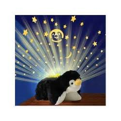 pillow pets lites playful penguin 11 quot new ebay
