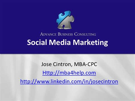 Mba Social Media Marketing Leo by Social Media For Business Success