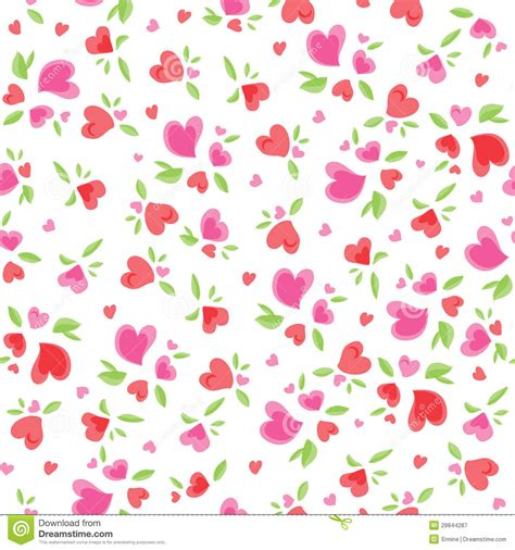 vintage valentine pattern vintage valentine pattern stock vector image of little
