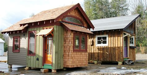 Stationary Tiny House Plans by Hobbitat Prefab Micro Houses Are Built From Reclaimed And