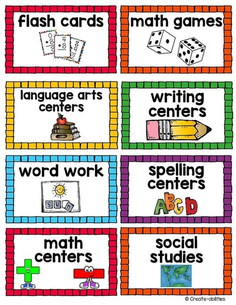 printable labels for classroom small supply labels classroom supply labels printable