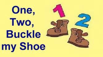 1 2 Buckle My Shoe Nursery Rhyme Printables » Home Design 2017