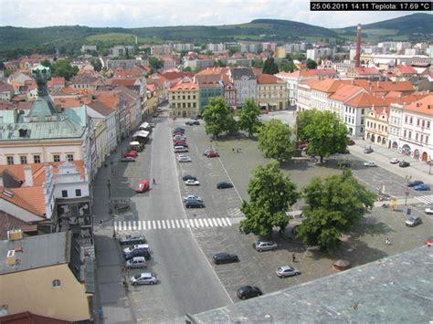 webcam litomerice peace square europe czech