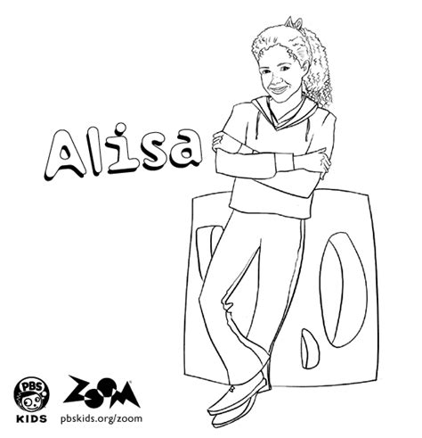 zoom coloring page zoom printables alisa s coloring page pbs kids