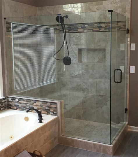 shower door rubbed bronze frameless sliding shower door rubbed bronze frameless
