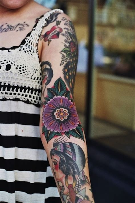 random sleeve tattoo designs 40 awesome sleeve designs