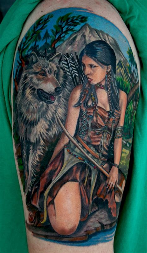 native american woman tattoo american tattoos traditional healing