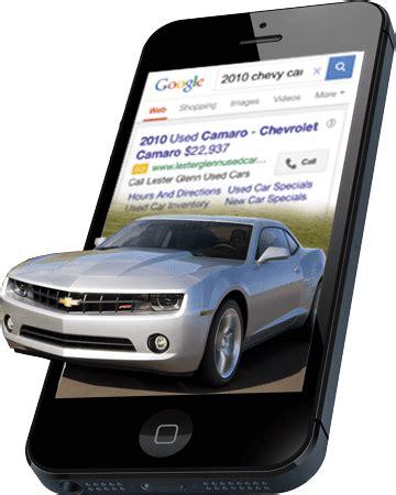 auto dealer website sem (search engine marketing)