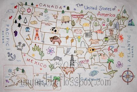 embroidery design world map map of the united states embroidery pattern