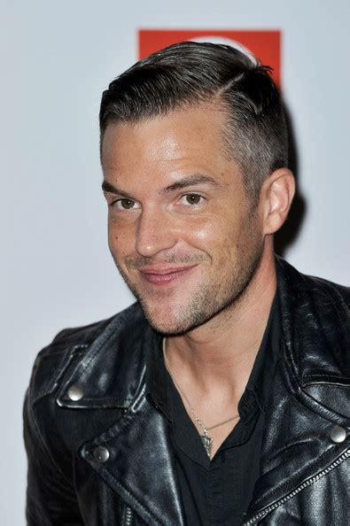 brandon flowers photos photos the q awards zimbio