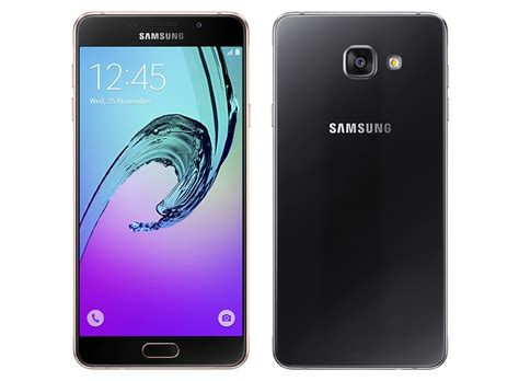 Samsung A7 Black Samsung Galaxy A5 2016 And Galaxy A7 2016 Launched In