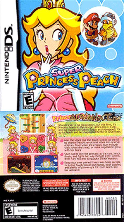 super princess peach game boy advance box art cover by kal