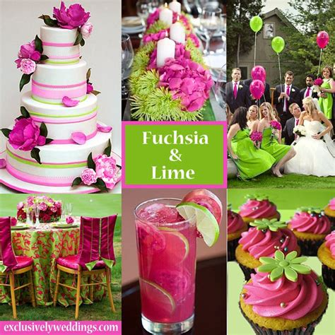 hot pink themes 66 best fuchsia hot pink wedding ideas images on pinterest