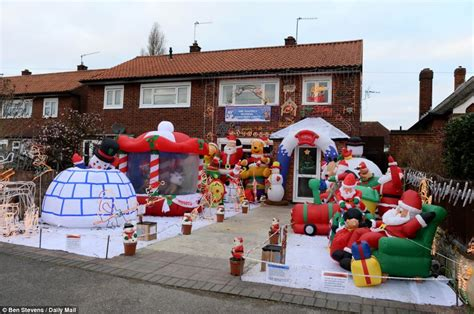 the santa s grotto of suburbia grandfather transforms his