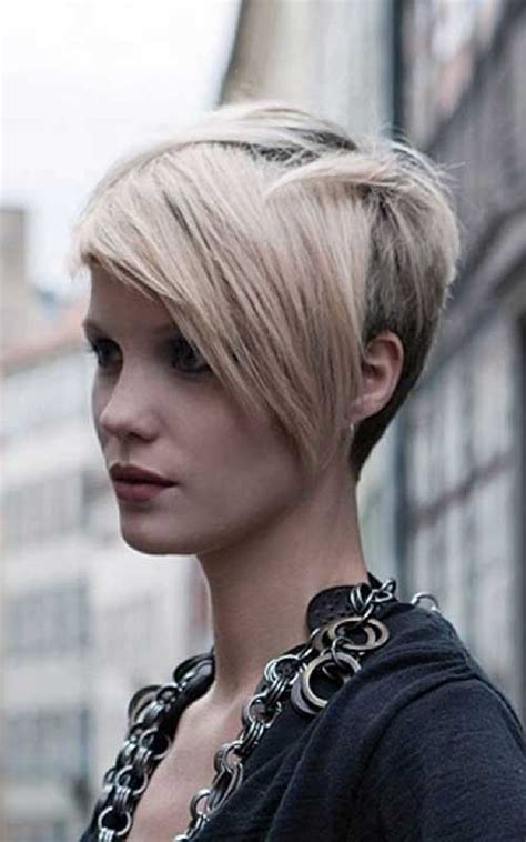 long hair styles shorter in back longer in front with layers 15 cute short layered haircuts short hairstyles 2016