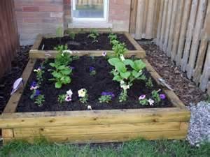 Simple diy flower beds shelterness
