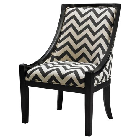 chevron armchair furniture black white chevron accent chair with arm and