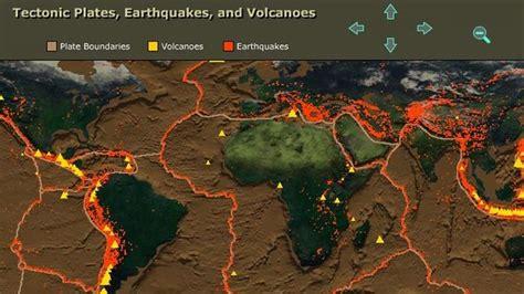 Tectonic Plates Earthquakes And Volcanoes Docs Com