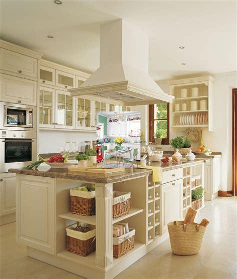 ejemplos de decoracion cocinas de color blancoestilo